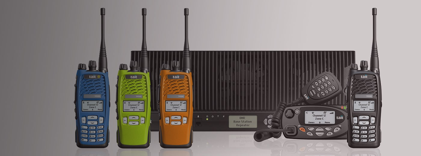 Tait DMR Radio Products