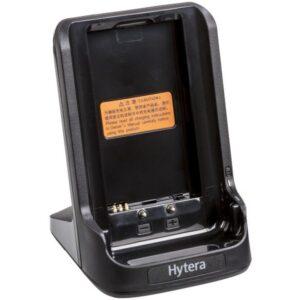 Hytera PD365 single charger pod.
