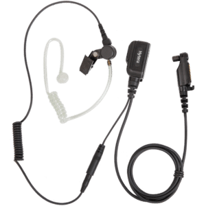 Hytera PD6 Acoustic Tube Earpiece & Microphone. Comprises a detachable acoustic tube and eartip.